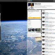 Twitter from space AstroRobonaut