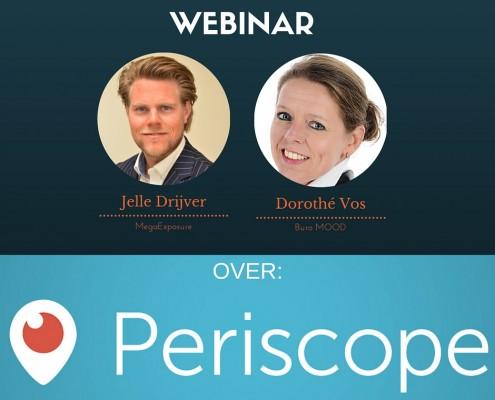 Webinar over Periscope als Ondernemer