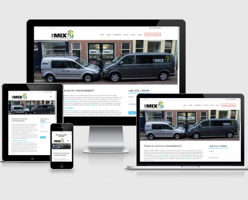Responsive_WordPress_website_door_MegaExposure_www.the-mix.nl