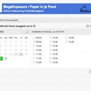 MegaExposure Planning Tool