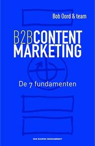 Bob Oord Boek B2B contentmarketing