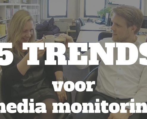 AFL 054 5 TRENDS voor media monitoring - Clipit Rinske Willemsen en Social Media trainer Jelle Drijver