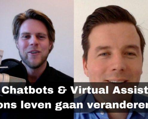 Hoe bots en virtual assistants ons leven gaan veranderen